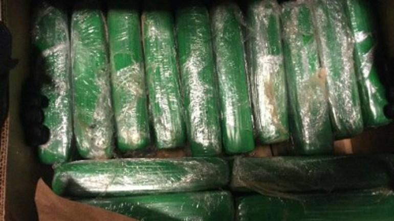 Golf van cocaïne komt aan in Nederland