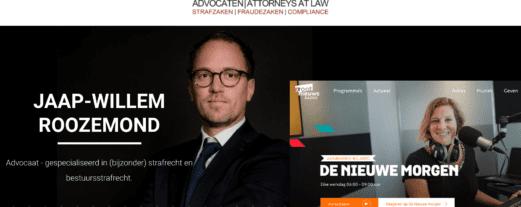Groot Nieuws Radio: 'Schadevergoeding verloofde Khashoggi' – Interview Jaap-Willem Roozemond